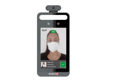 Provision-ISR Contactless Fever Screening Mask Detection Testing Unit