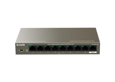Tenda 9 Port Gigabit with 8 PoE 92W Desktop Switch TEG1109P 8 102W